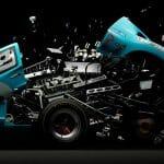 Carros Explodidos - Fotógrafo Explode Carros Esportivos Famosos para Criar Imagens Incríveis