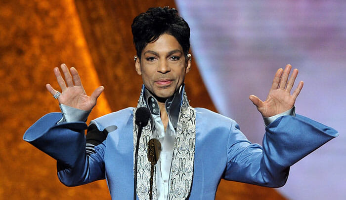 Prince at 42nd NAACP Image Awards - Show