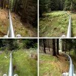 VÍDEO: Descendo por uma Montanha Russa Localizada em uma Montanha!
