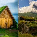 30 Casas Espetaculares da Escandinávia com Telhado Vivo