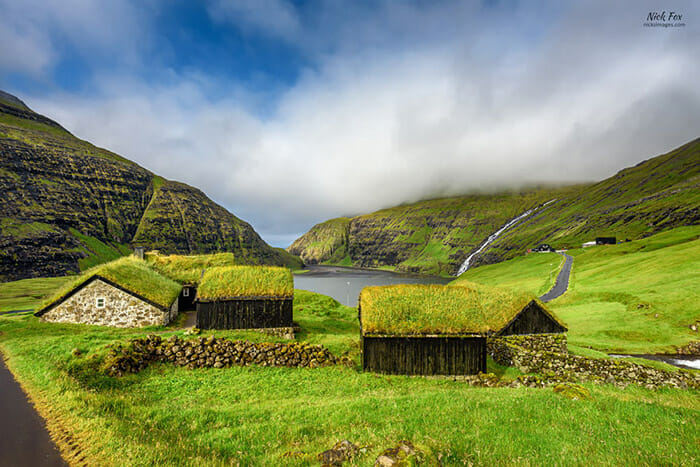 Village of Saksun, Faroe Islands, Denmark