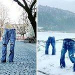 Os Invisíveis: 13 Pessoas Que Protestaram Contra o Frio Congelando Suas Roupas