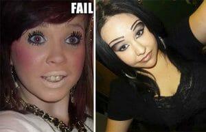 Top 20 Piores Maquiagens Femininas Que Já Apareceram na Internet