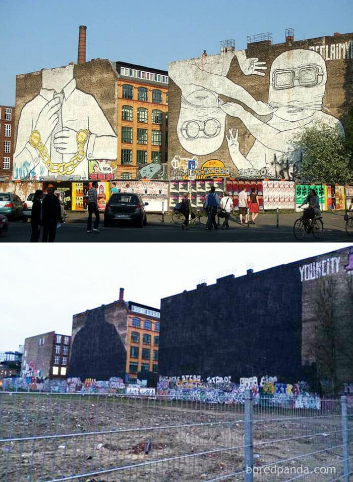 71 Comparativos Entre Antes e Depois De Grafites Que Vão Te Deixar De Boca Aberta
