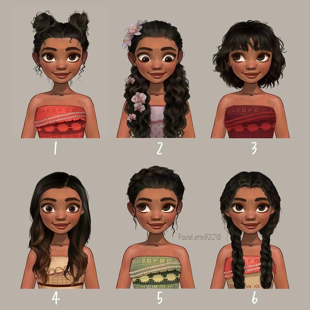 Como Seriam As Princesas Da Disney Se Tivessem Penteados e Cortes De Cabelo Diferentes? Descubra