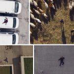Parkour Capturado por Drone É Um Jogo De Videogame Na Vida Real! Assista