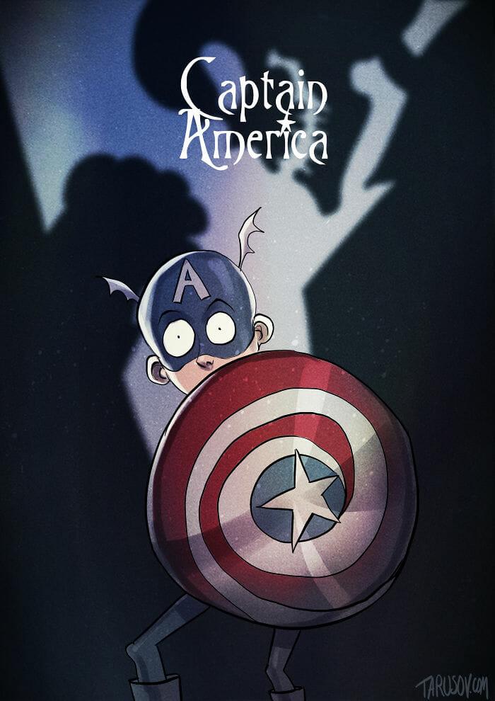 E Se... Os Super-Heróis Tivessem Sido Criados Por Tim Burton? Veja 10 Versões