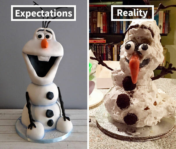 Expectativa vs. Realidade: Os 30 Piores Bolos Dos Últimos Tempos