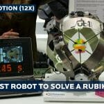 "Robô Recordista de Velocidade Resolve Cubo Mágico Antes Mesmo de Dizermos a Palavra ""Cubo Mágico"""