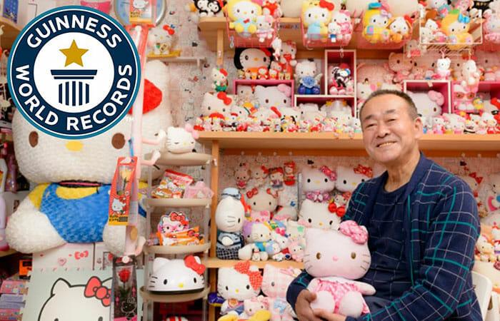 Novo Recorde Mundial: A Maior Coleção De Hello Kitty Do Mundo É De Um Homem!