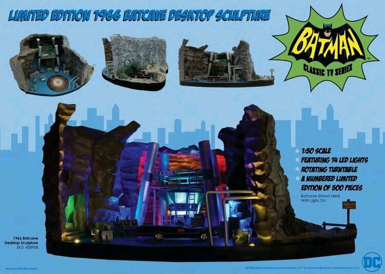 Réplica Da Batcaverna De 1966 é o Sonho De Consumo De Qualquer Fã Do Batman