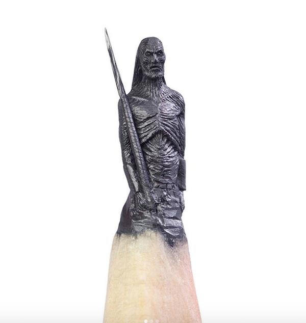 18 Esculturas Incríveis Criadas Em Grafites Na Ponta De Lápis