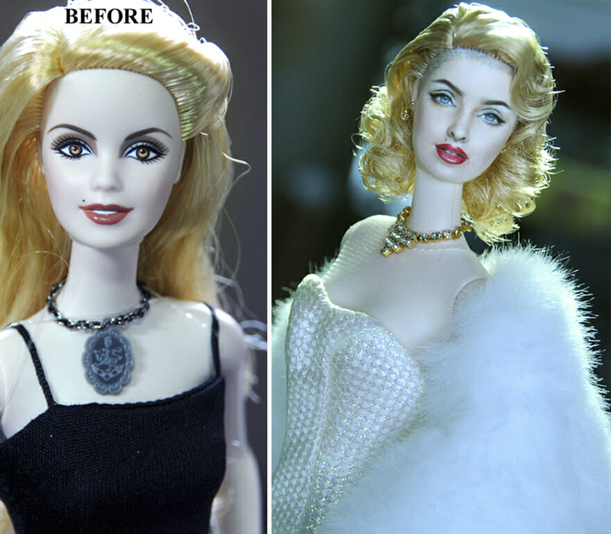 90 Transformações Sensacionais De Bonecos De Celebridades