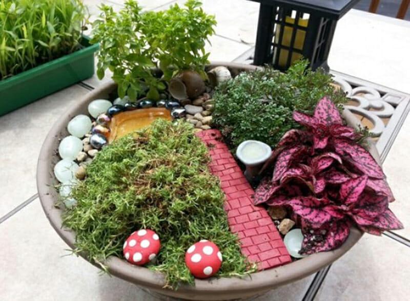 48 Sugestões De Jardins em Miniatura Muito Legais Para Decorar o Ambiente