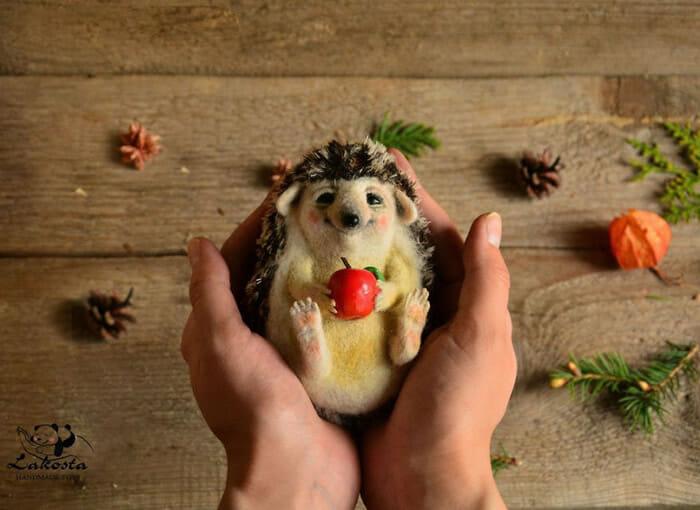 24 Animais Super Fofos De Feltro Feitos À Mão