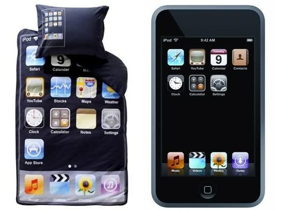 Jogo de cama iPod Touch