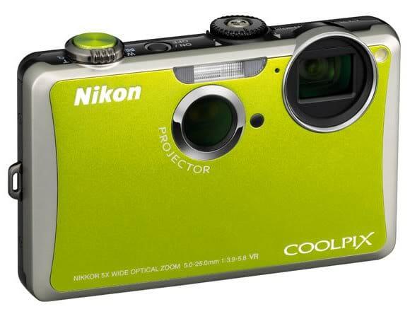 Nikon lança câmera com projetor embutido.