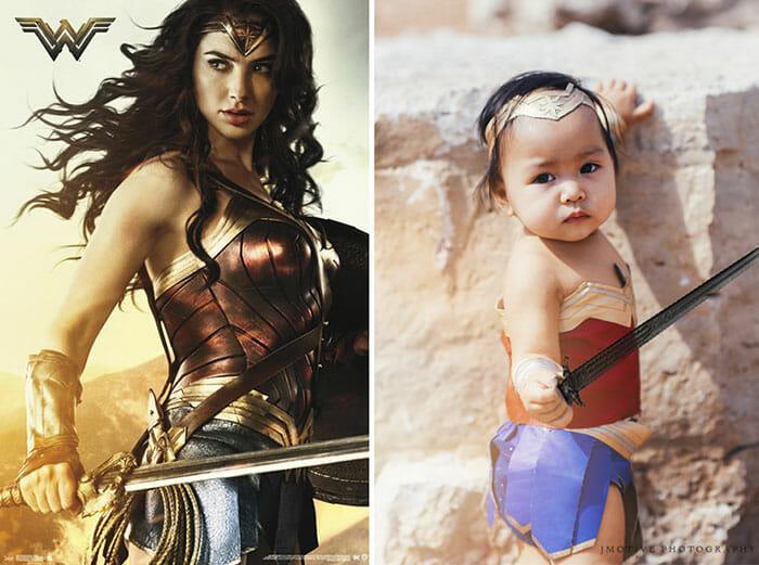Fofura Do Dia! Mãe Transforma Sua Bebê Em Mulher Maravilha