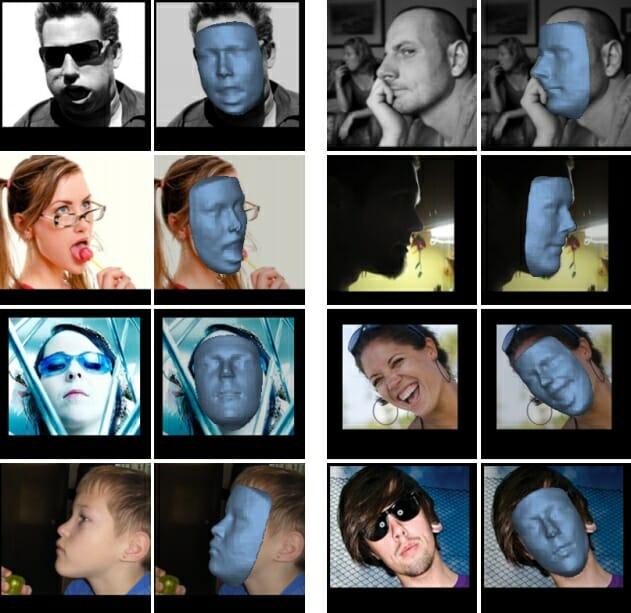 Pesquisadores Desenvolvem Software Que Transforma Rostos de Fotografias Em Modelos 3D