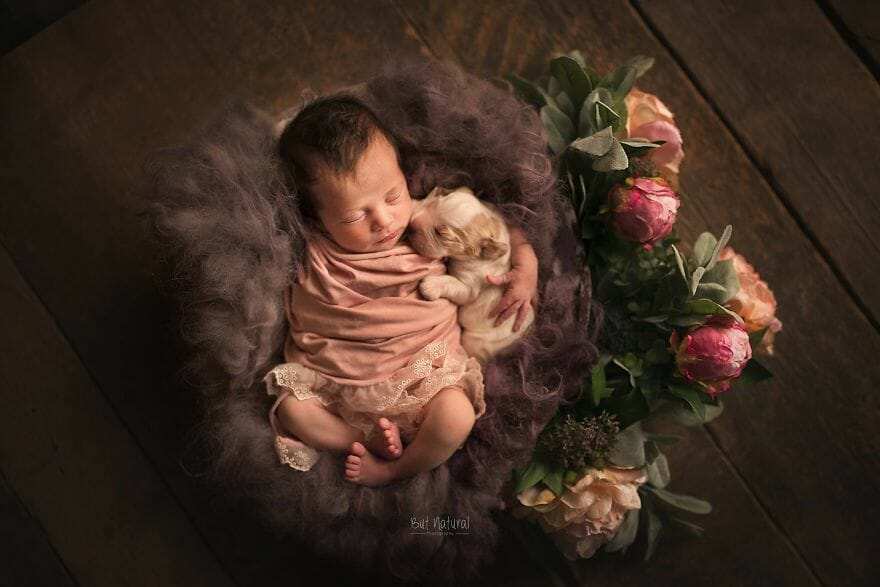 17 Fotos Lindas de Bebês com Animais que Vão Conquistar Seu Coração