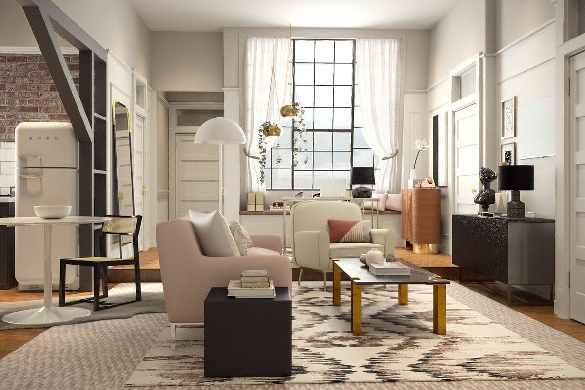 Como Seriam os Apartamentos De 'Friends' Se a Série Fosse Feita Em 2018
