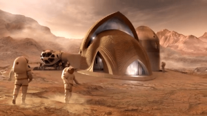 """5 """"Projetos de Casas"""" Que Poderiam Ser Construídos Com Impressoras 3D Se Habitássemos Marte"""
