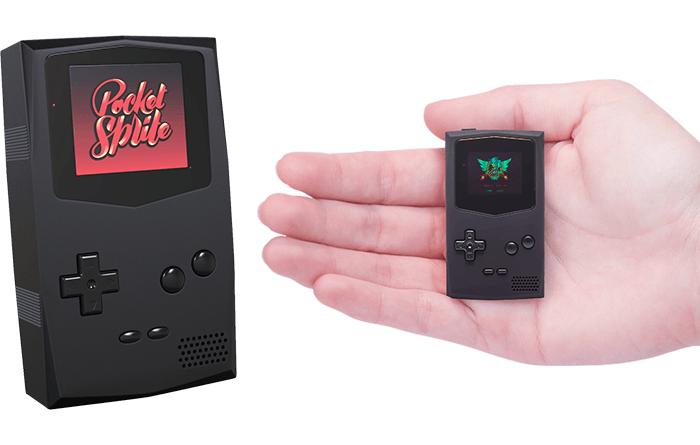 PocketSprite: O GameBoy Em Miniatura Que Você Sempre Sonhou!