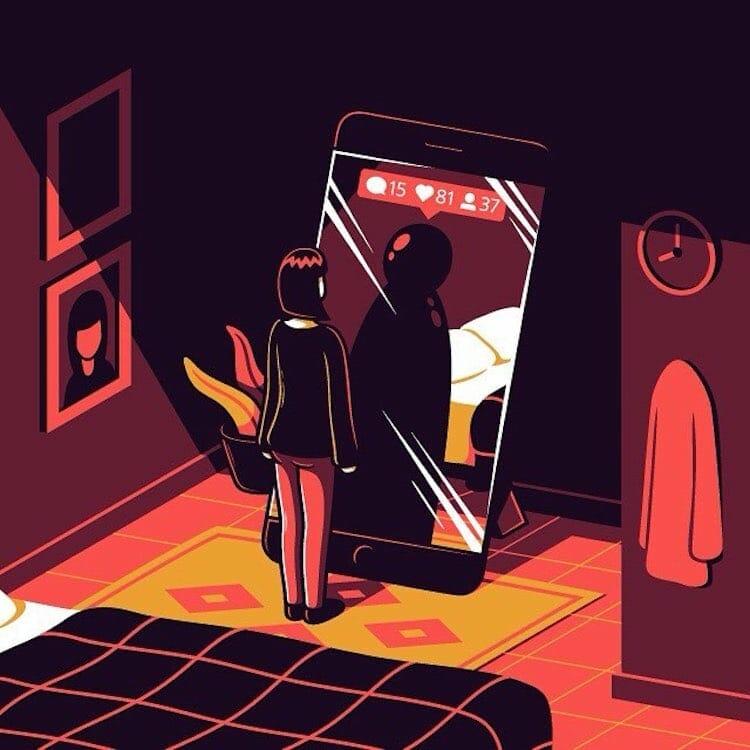 21 Ilustrações Brilhantes Sobre a Vida Que Farão Você Refletir