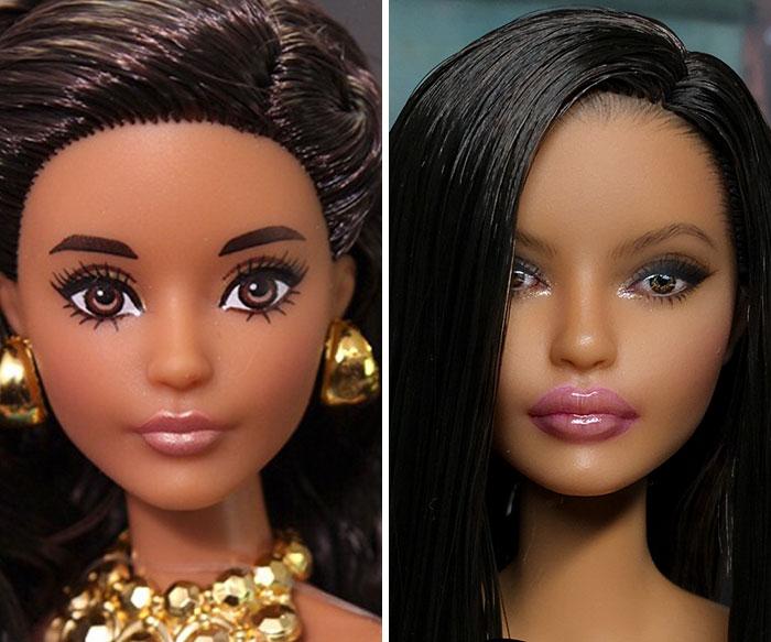 Artista Remove Maquiagens Das Bonecas E As Deixa Com Aparência Super Realista