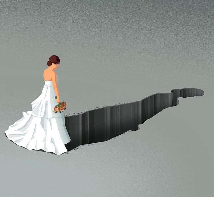 19 Ilustrações Poderosas Oferecem Um Espelho Penetrante Do Mundo Onde Vivemos