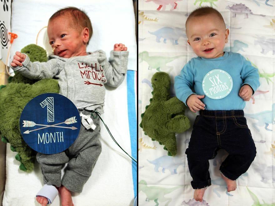 Um Pai Fez Seu Bebê Fazer Coisas De Adulto E O Resultado Foi Sensacional!
