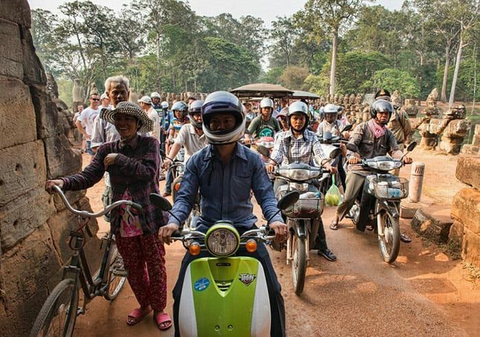 Hora do Rush Mundo - Cambodia