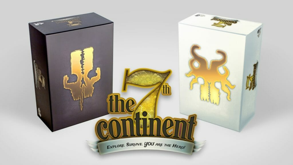 The 7th Continent tabletop game