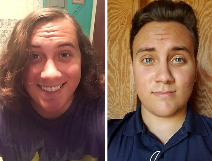 21 Antes e Depois De Cortes de Cabelo Mostrando Que Isso Pode Mudar Tudo