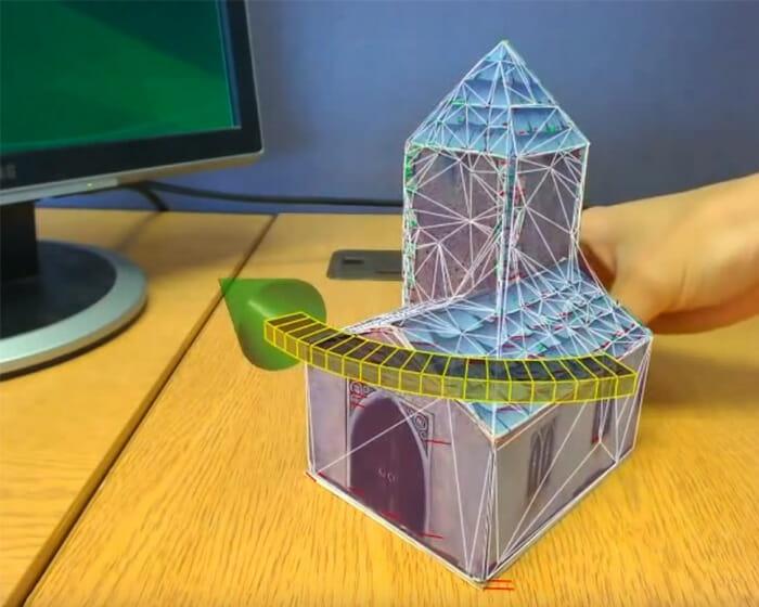 transformar Webcam em Scanner 3D