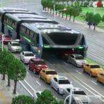 Ônibus Maluco da China Irá Andar Por Cima Dos Carros (Vídeo)