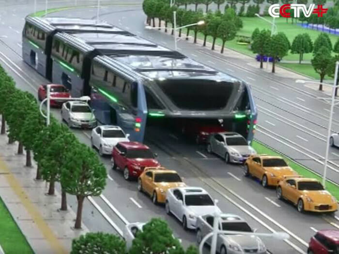 Ônibus maluco da China
