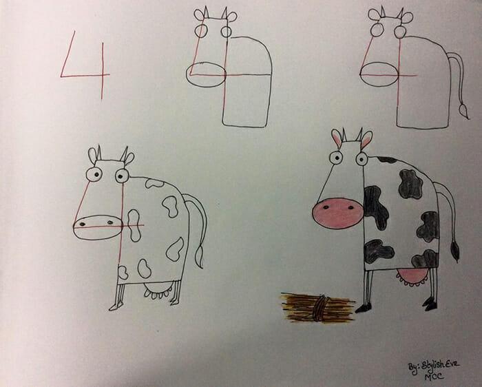 14 Imagens Legais Para Aprender A Desenhar Com Números E Letras