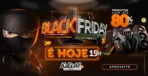 Black Friday 2019: KaBuM! Garante até 80% de Desconto em Eletrônicos, Smartphones e Hardware