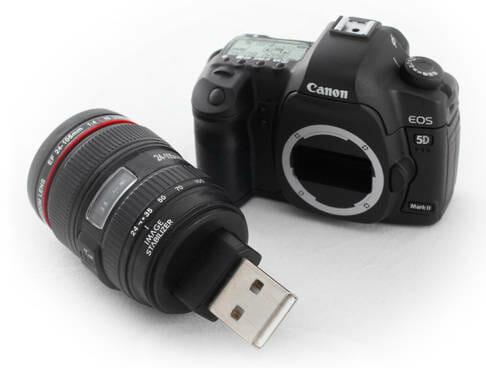 Canon Lança Pen drive em Forma de Câmera Digital