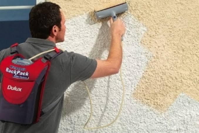 Rolo de pintura eletrônico Weathershield BackPack