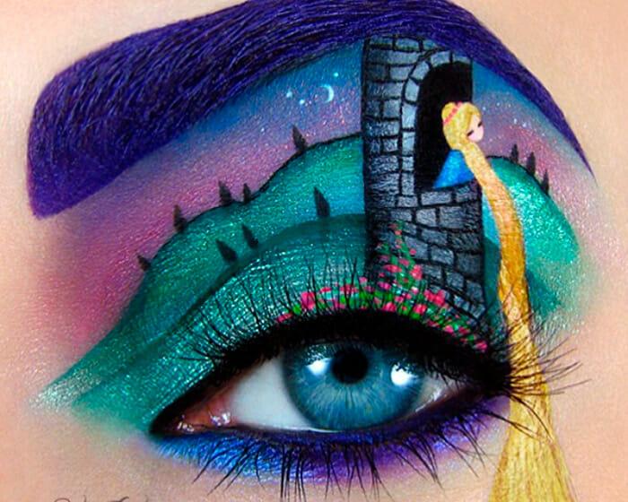 Maquiagens Incríveis e Inusitadas Para os Olhos