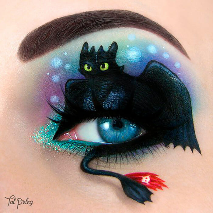 31 Maquiagens Incríveis e Inusitadas Para os Olhos