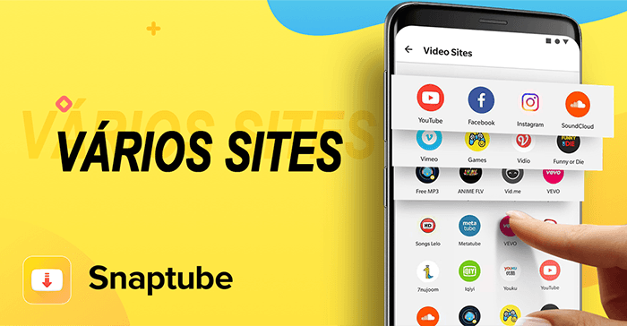 Snaptube multi sites