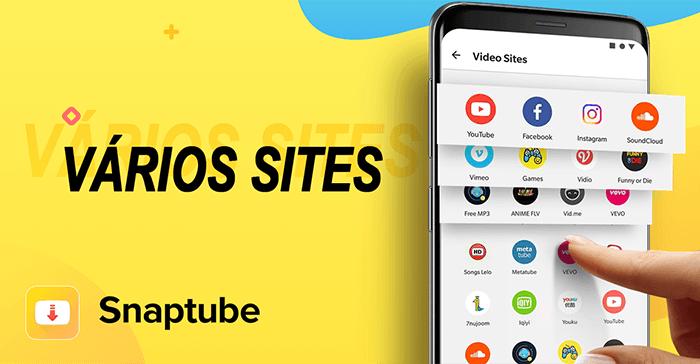 Snaptube multi sites