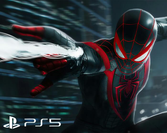 Entre os jogos do PS5 mais aguardados está Spider-Man: Miles Morales