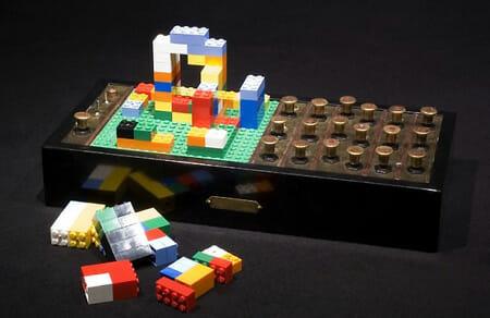 Sequenciador de Sons Feito com Peças de LEGO