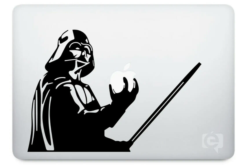 Adesivo para MacBook Pro Darth Vader Star Wars