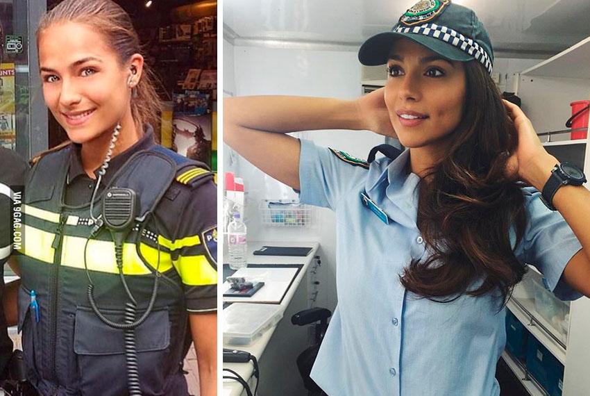 Mulheres Policiais Lindas ao Redor do Mundo