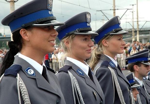 mulheres policiais lindas Polônia